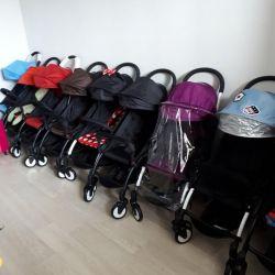 Нові коляски baby time колір міні Маус і ін.