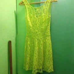 Платье кружевное фирма OVS р. 42-44