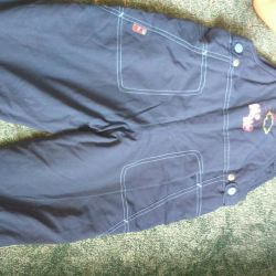 The warmed trousers for growth of 86-96 cm + GIFT