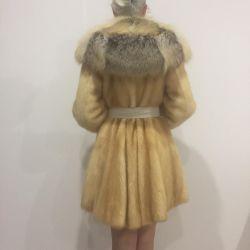 Γούνινο παλτό + διαπραγμάτευση αλεπού