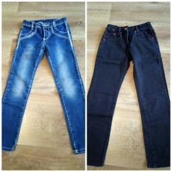Jeans for a girl on 150rub.