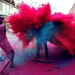 Paints Holi for Children's Festival Holidays