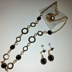 Set with Swarovski crystals (Swarovski)