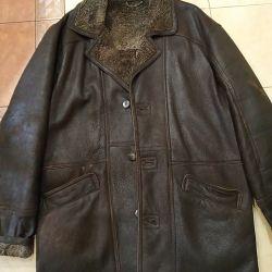 Men's sheepskin coat 54r