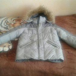 Куртка на пуху р 134-146