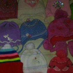 Çocuk şapkaları paketi