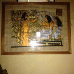Resimler (papirüs)
