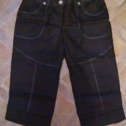 Yeni Keten Pantolonları