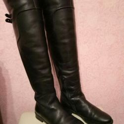 Boots Ralf r. 36 nat. leather