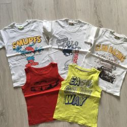 T-shirts for the summer size.104