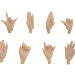 A set of 10pcs gesture hands collectible Blyth / Blyth