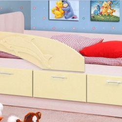 Dolphin de culoarea patului vanilie.