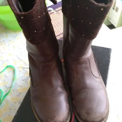Autumn boots for the girl 33 rr