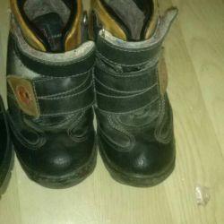 μπότες χειμώνα 28 δέρμα