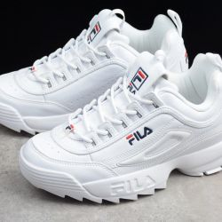 new sneakers white fila 37.5 size