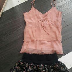 Skirt + top