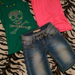 Shorts + 2 new T-shirts