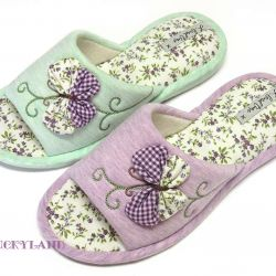 new slippers 37 size lilac