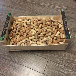 Cork plywood box