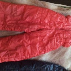 jumpsuit from 2 to 5 years old orange