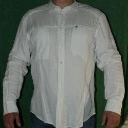 Новая белаю рубашка VJC XL-XXL размер