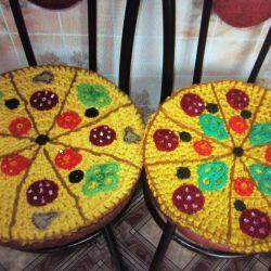 Сидушки Пицца