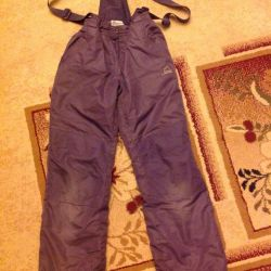 Winter pants for riding on a hill