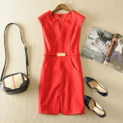 Chic women's dress new