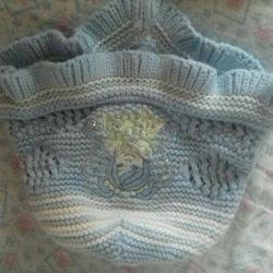 Cap and suit for girls 1-2 grams