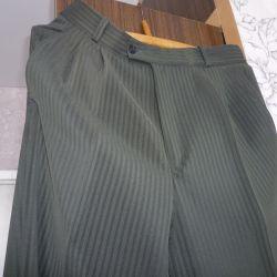 Pantaloni de vară p 48 înălțime 180cm nou