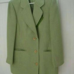 Jacket and fabric
