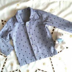 Τζιν μπλούζες 80-86cm