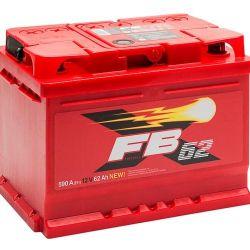 Baterie FB 62 Ah 590 A (LOW !!!)