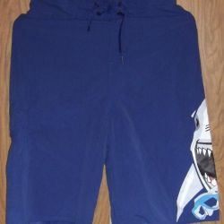 New swimming trunks shorts with shark height 164-170