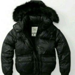 Abercrombie down jacket