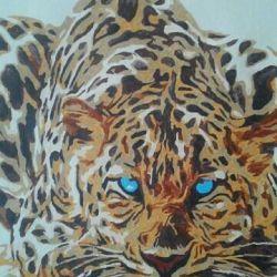 Imagine de Numbers leopard