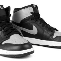 Nike Air Jordan 1 ρετρό αθλητικά παπούτσια 127006 γκρι