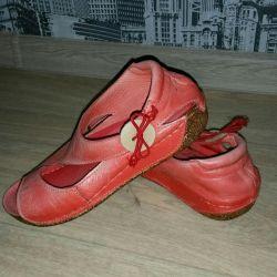 Sandals orthopedic leather