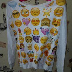 Switchtie, jacheta, emoji smile hoodie