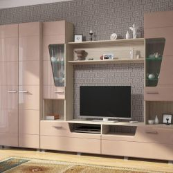 The wall in the living room 2.78 meters. MDF. New!