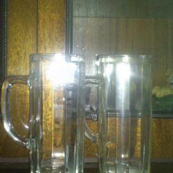 Beer mugs. 0.5 l.
