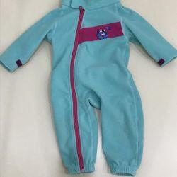 Fleece overalls