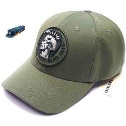 Men's baseball cap Diesel Only the Brave (khaki)
