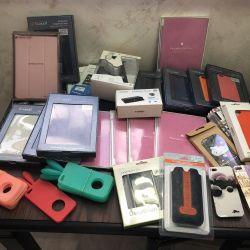 Чехлы, пленки, аксессуары. iPhone 5,5s, iPad mini