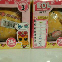 Κούκλες lol κατοικίδια ζώα