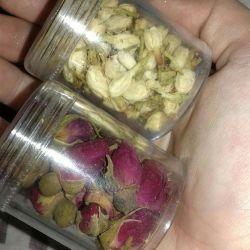 Flowers dried buds roses jasmine quality