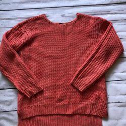 German coral sweater