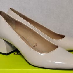 Zara Trafaluc Heeled Βερνίκια παπουτσιών 37 Μέγεθος