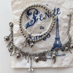 Δύο βραχιόλια από το Παρίσι