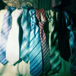 Men's ties, stylish, high-quality and expensive